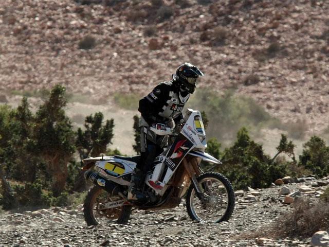 Pellicer (BMW), rey del desierto. Octava etapa, octava victoria