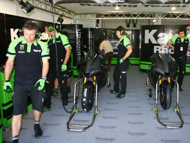 Kawasaki se retira de MotoGP. Comunicado oficial de Kawasaki