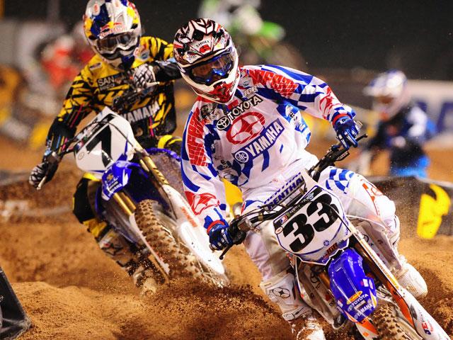 Primera victoria de Stewart con Yamaha