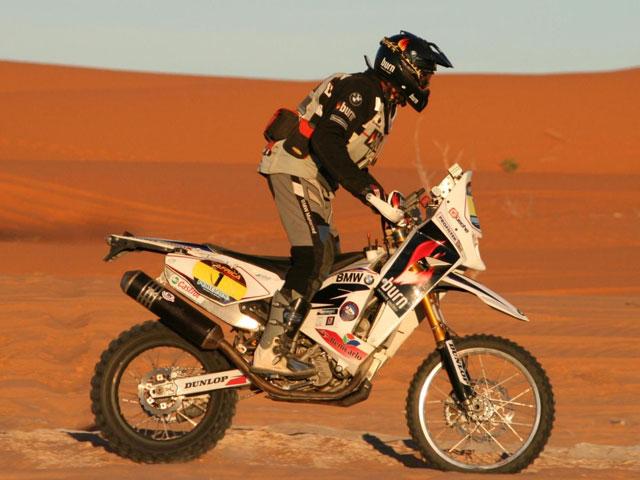 Victoria final de Pellicer en el rally Africa Race con BMW