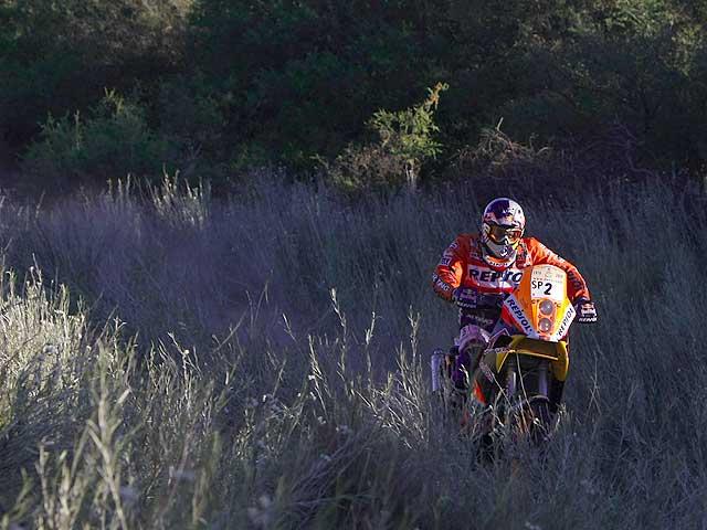 Dakar 2009. Verhoeven (KTM) gana su segunda etapa
