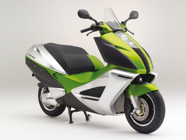 Honda lanzará en 2010 su moto eléctrica