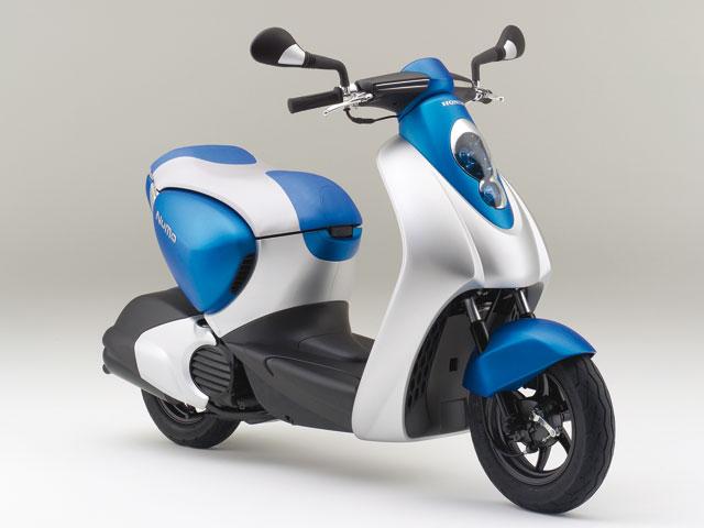 Imagen de Galeria de Honda lanzará en 2010 su moto eléctrica