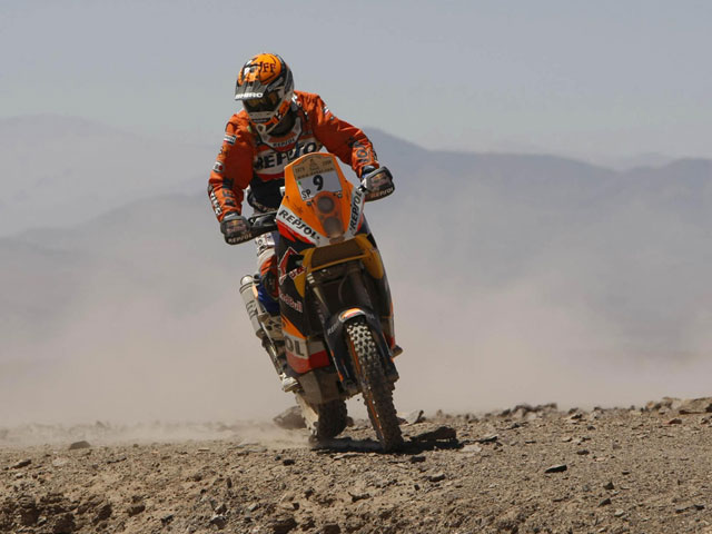Jornada tranquila en el Dakar para el Equipo Repsol