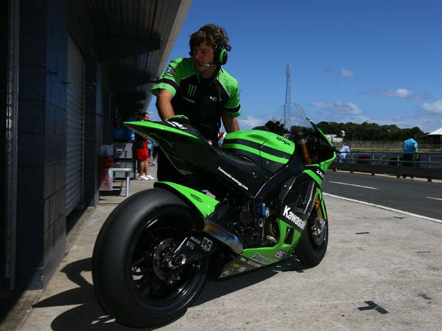Imagen de Galeria de MotoGP 2009. Kawasaki mantiene sus entrenamientos en Australia