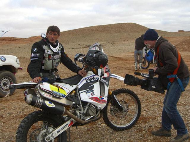 Imagen de Galeria de BMW G 450 X, la moto de Pellicer en el Africa Race