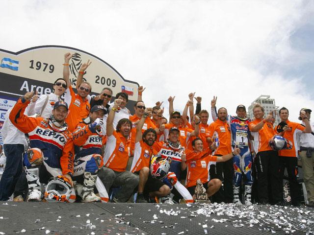 Imagen de Galeria de Marc Coma, todas las cifras del campeón del Dakar 2009 en motos