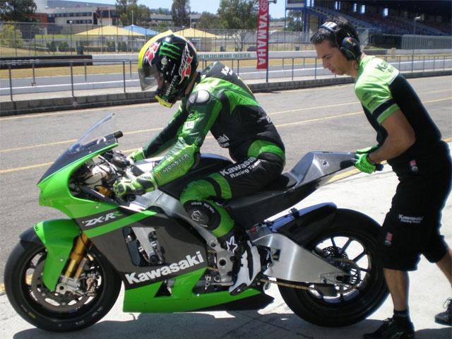 Imagen de Galeria de Olivier Jacque desarrolla la Kawasaki Ninja ZX-RR 2009 para MotoGP
