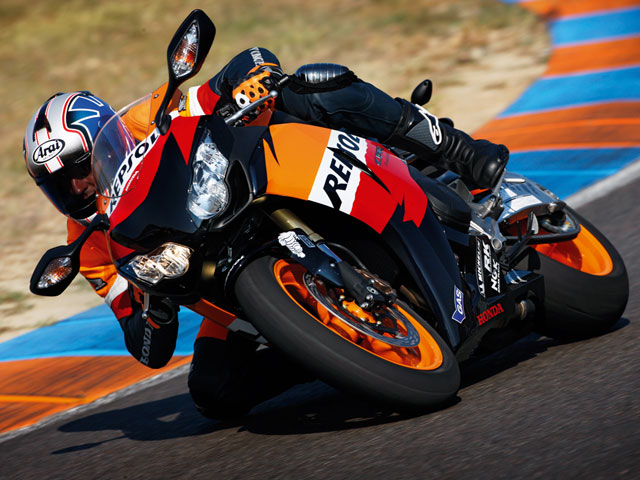 """Promoción Honda CBR1000RR """"Repsol"""" y """"Tricolor HRC"""""""