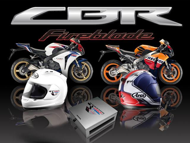 """Imagen de Galeria de Promoción Honda CBR1000RR """"Repsol"""" y """"Tricolor HRC"""""""