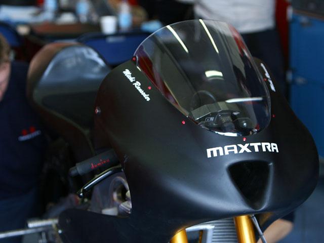 Matthew Hoyle en el Mundial de 125cc con Maxtra