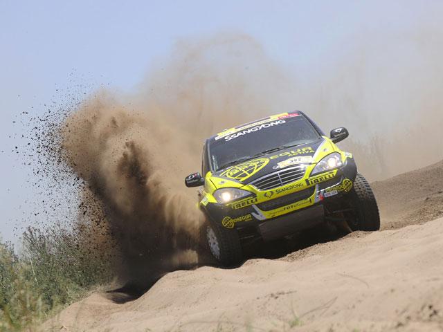 """Isidre Esteve: """"El objetivo era acabar el Dakar 2009"""""""