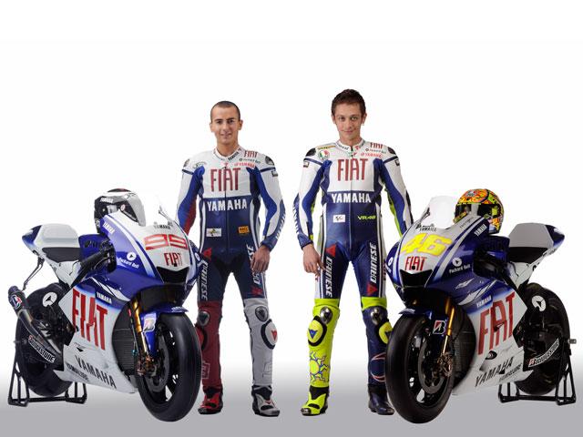 Presentación del equipo Fiat Yamaha 2009 de MotoGP