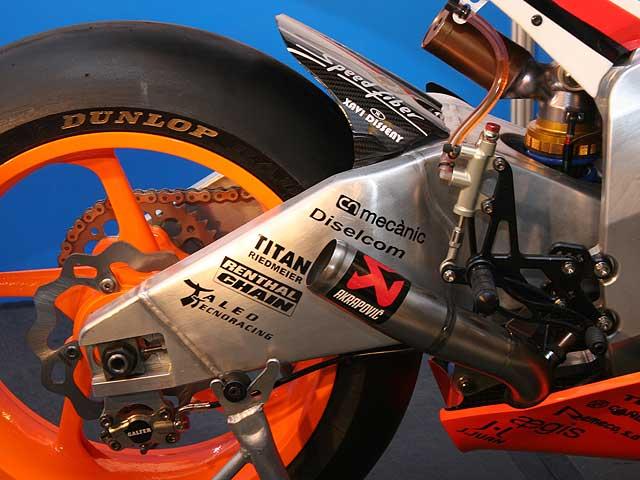 La primera Moto2