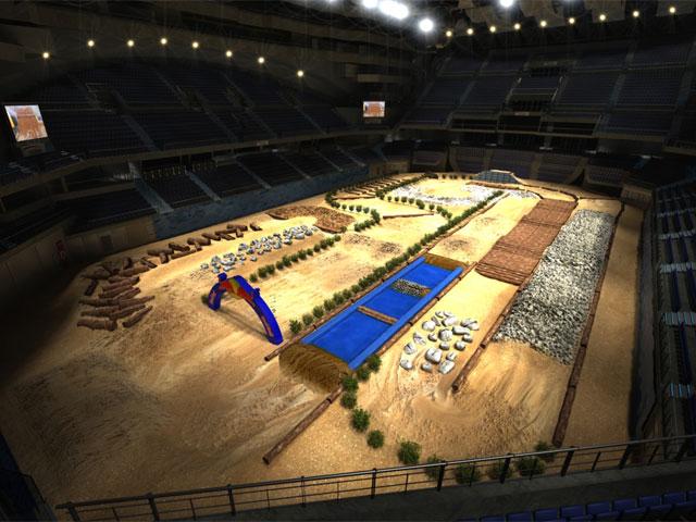 Mundial de Enduro Indoor, última prueba de la temporada en Madrid