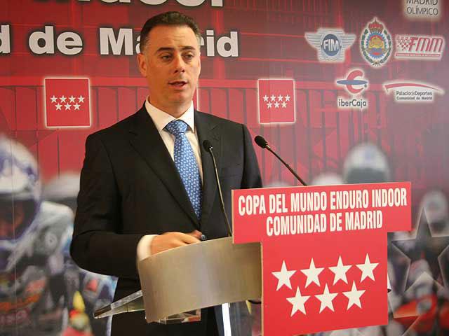 Presentación del Enduro Indoor Comunidad de Madrid
