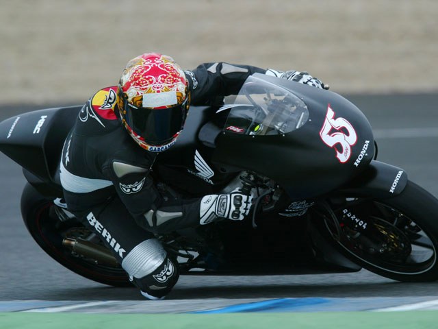 Simoncelli (Gilera), el más rápido en Cheste