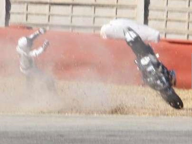Imagen de Galeria de Fotos de la caída de Michael Schumacher