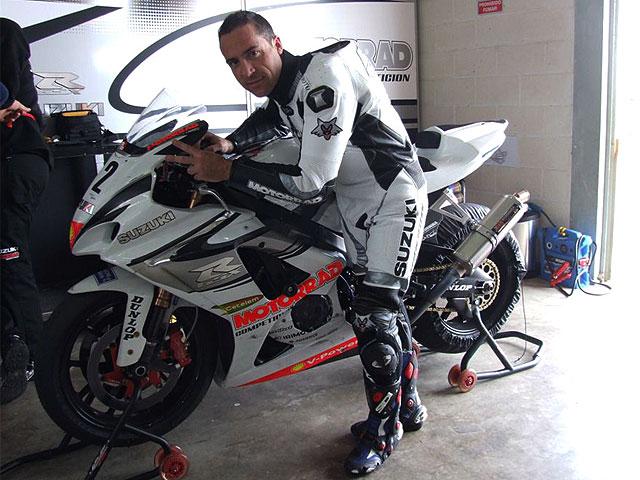 De Gea correrá en Formula Extreme con el Team Suzuki Motorrad