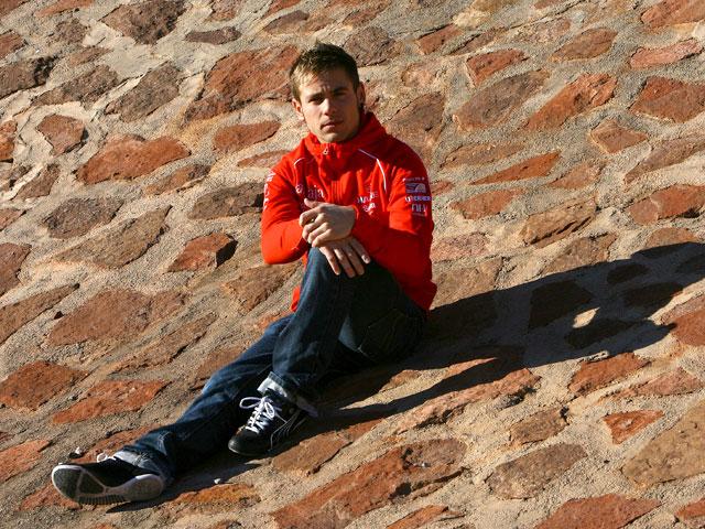 Entrevista a Alvaro Bautista, Aprilia, tras su lesión de clavícula