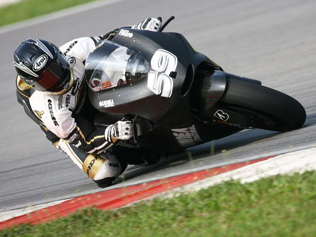 Sete Gibernau (Ducati), lesionado, no participará en el test de Losail