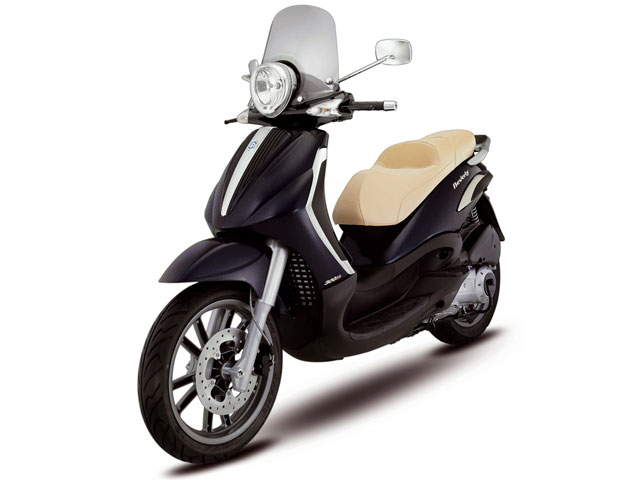 Piaggio Beverly Tourer 300 ie, ya disponible