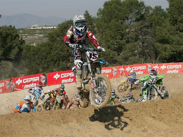 Imagen de Galeria de Álvaro Lozano (Yamaha) domina en el Motocross de Albaida