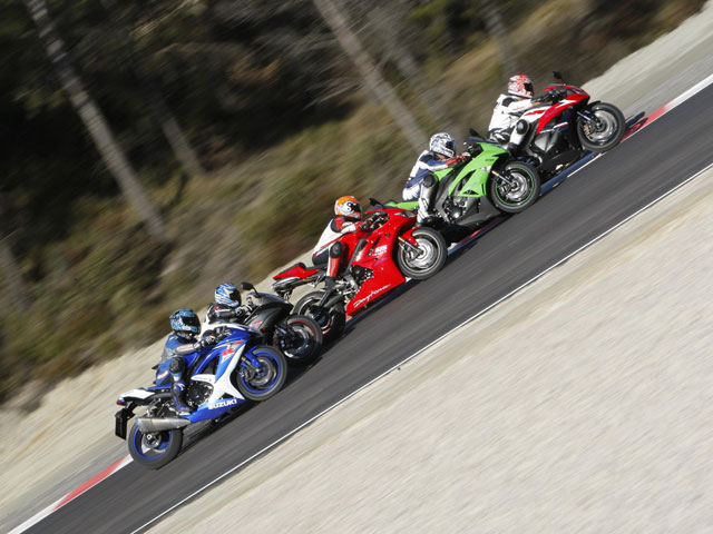 Comparativa Supersport 2009