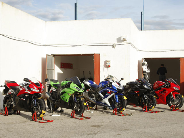 Imagen de Galeria de Comparativa Supersport 2009
