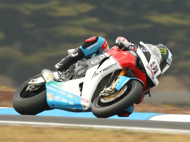 Jakub Smrz (Ducati) se lleva el primer cronometrado del Mundial de SBK