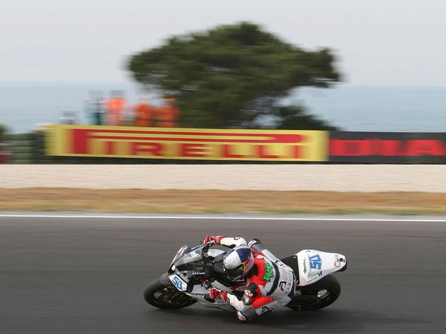 Lascorz (Kawasaki) se queda a tres décimas de la pole de Sofuoglu (Honda)