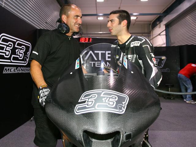 """Imagen de Galeria de Nicky Hayden (Ducati): """"No había visto nunca llover en Qatar"""""""