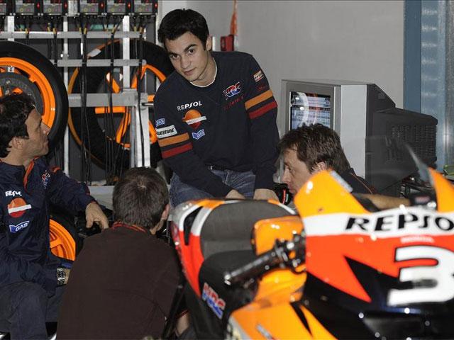 Imagen de Galeria de MotoGP. Dani Pedrosa (Honda) será operado mañana