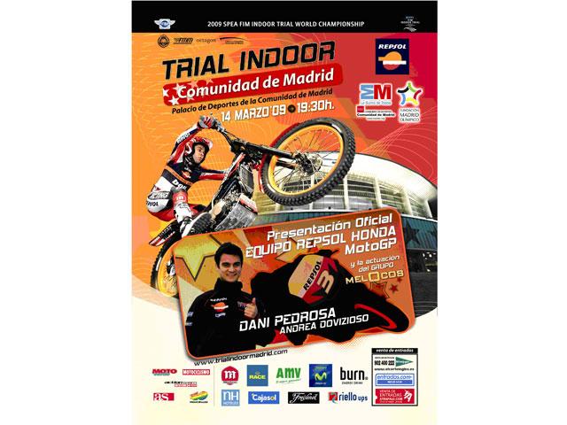 El Indoor de Madrid servirá para la presentación del equipo Repsol Honda MotoGP