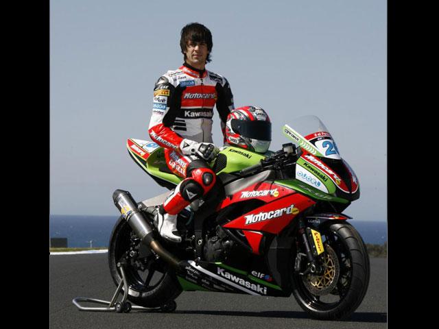 Kawasaki Racing Team SBK se presenta oficialmente