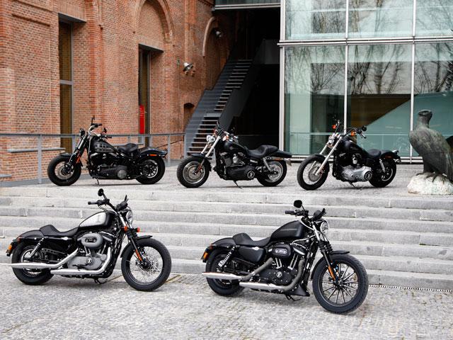 Gama Harley-Davidson Dark Custom