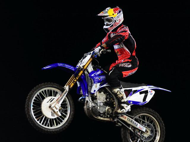 Chad Reed (Suzuki) complica la vida a James Stewart (Yamaha)