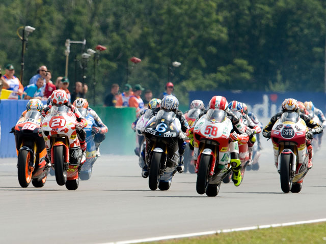 MotoGP. Lista provisional de inscritos en MotoGP