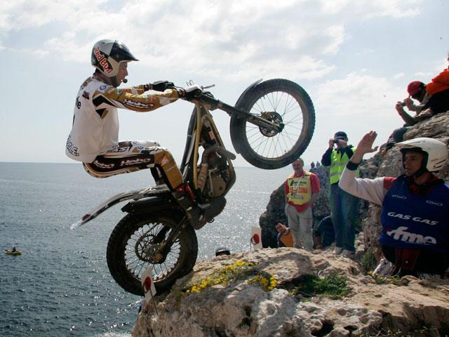 Fujinami se adjudica la primera prueba del Campeonato de España de Trial 2009