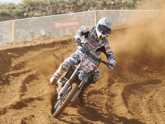 Jonathan Barragan con KTM se lleva el Motocross de Tenerife