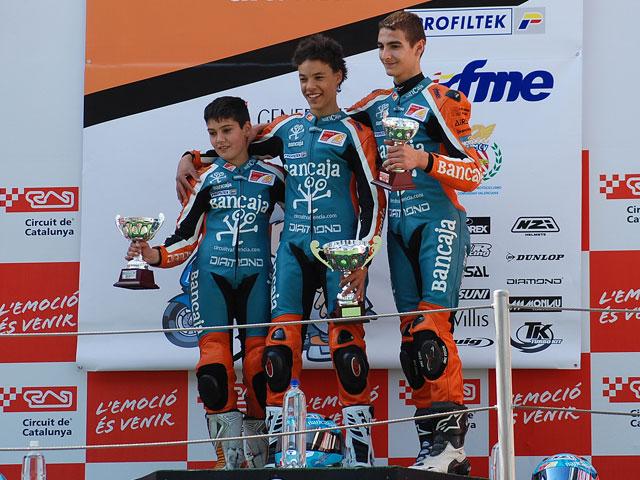 Morbidelli y Granado primeros vencedores de la Cuna de Campeones Bancaja