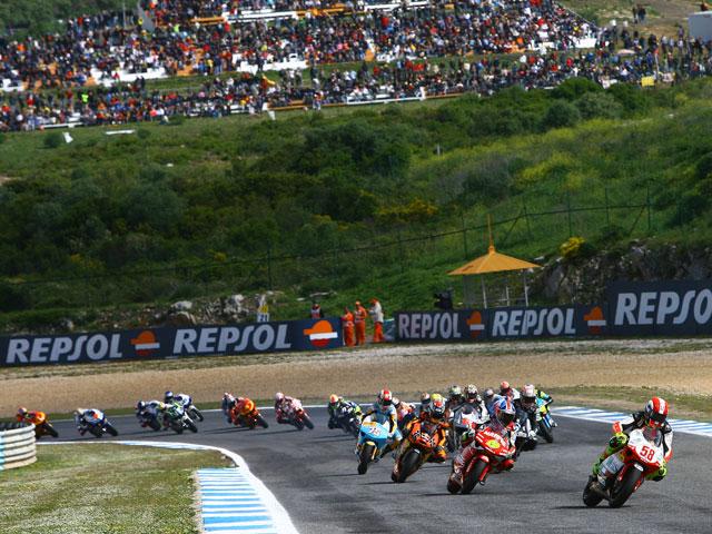 Entrenamientos IRTA de MotoGP en Jerez