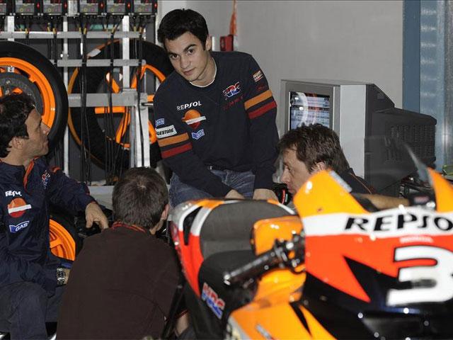 Imagen de Galeria de Dani Pedrosa (Honda) tendrá sustituto en los IRTA de Jerez