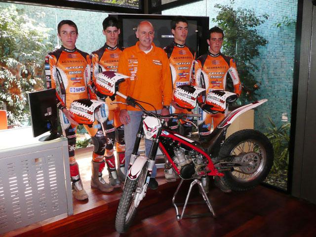 Imagen de Galeria de Jordi Tarrés presenta su nuevo equipo de Trial con Gas Gas