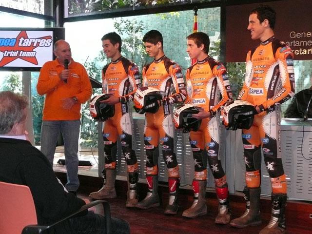 Jordi Tarrés presenta su nuevo equipo de Trial con Gas Gas