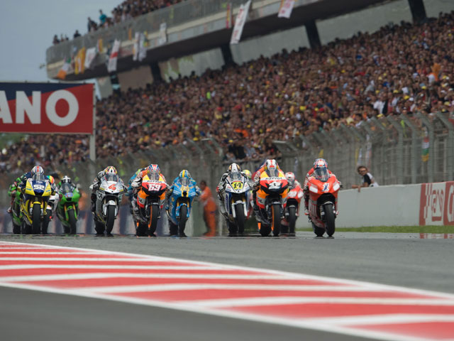 Jornada de MotoGP en TVE