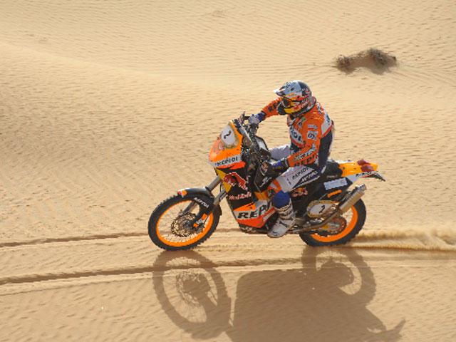 Imagen de Galeria de Marc Coma (KTM) recupera el liderato en el Abu Dhabi Desert Challenge