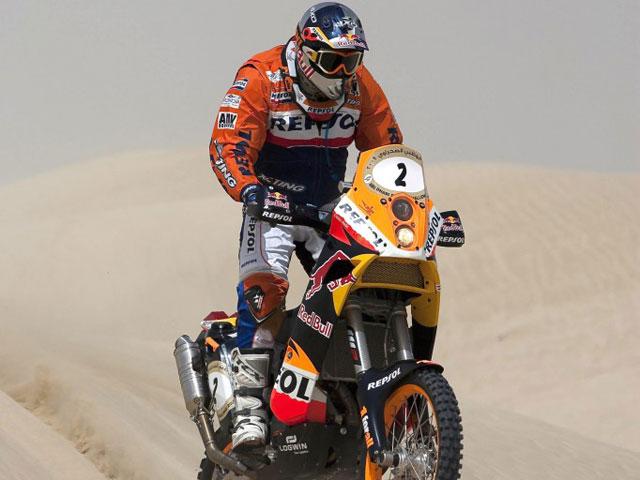 Marc Coma (KTM) recupera el liderato en el Abu Dhabi Desert Challenge