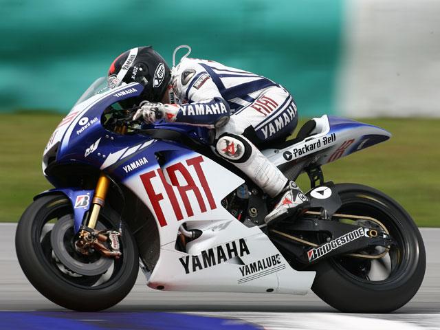 Imagen de Galeria de Jorge Lorenzo (Yamaha) golpea primero en los IRTA de MotoGP