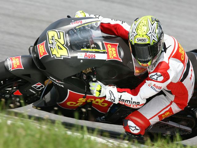 Jorge Lorenzo (Yamaha) golpea primero en los IRTA de MotoGP